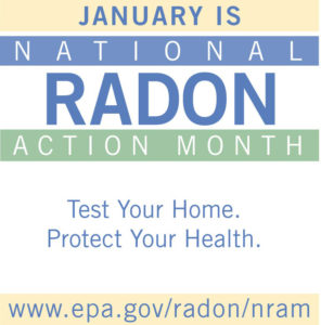 Cover photo for January Is National Radon Action Month