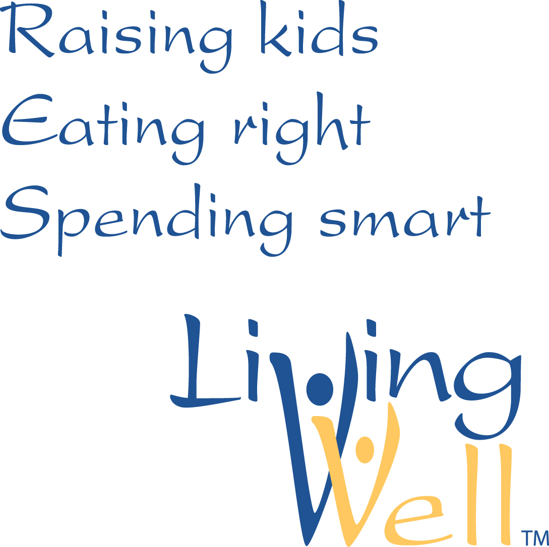 Raising kids, Eating right, Spending smart, Living well.